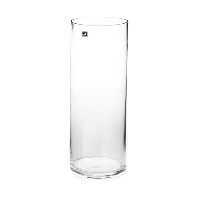 Glass Cylinder Vase 15Dx50cmH Clear