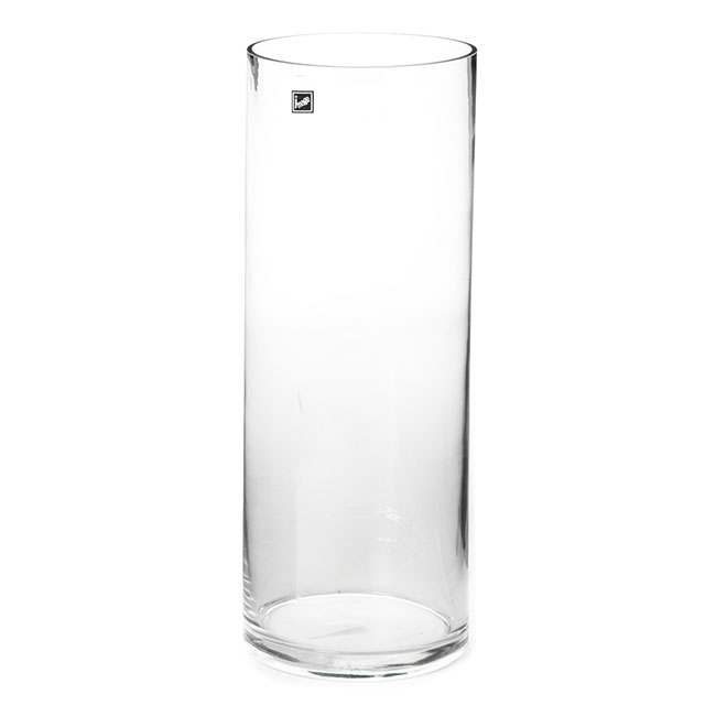 Glass Cylinder Vase Large 15Dx60cmH Clear
