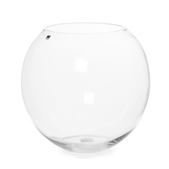 Glass Fish Bowl Clear (19TDx33Dx32cmH)