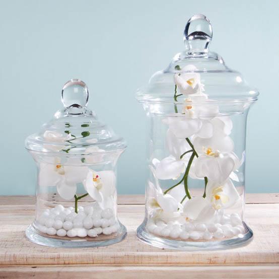 glass candy jar cylinder w lid 14 5dx24cmh clear. Black Bedroom Furniture Sets. Home Design Ideas