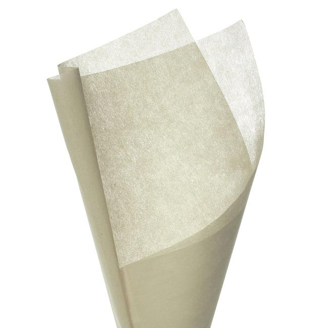 Nonwoven Wrap Sheets NOVA PK50 Cream (50x70cm)