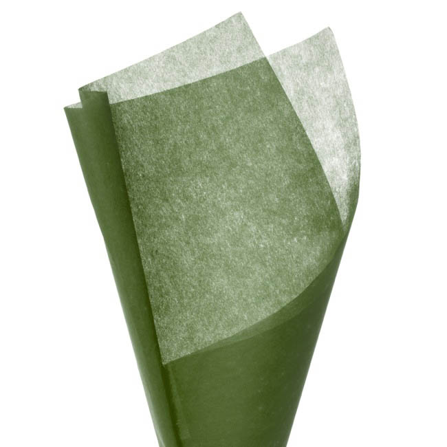 Nonwoven Wrap Sheets NOVA 500 Pack Moss (50x35cm)