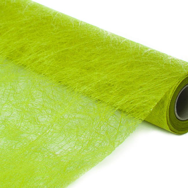 Nonwoven Spider Roll Lime Green (60cmx10m)