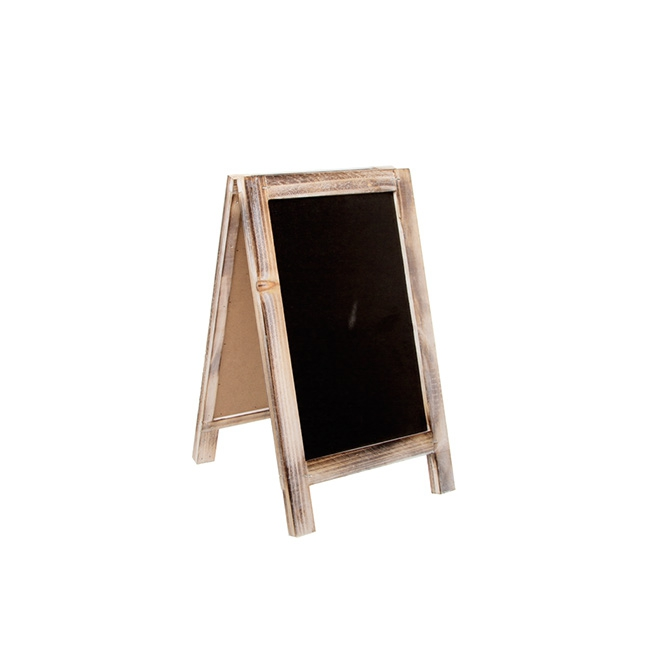 Large A-Frame Chalkboard Brown (22x38cmH)