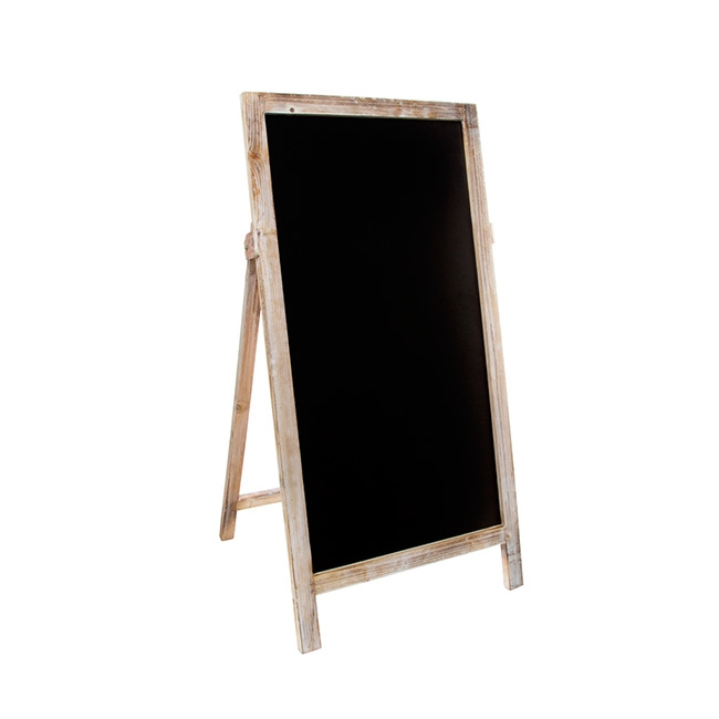 Large A-Frame Chalkboard Brown (40x80cmH)