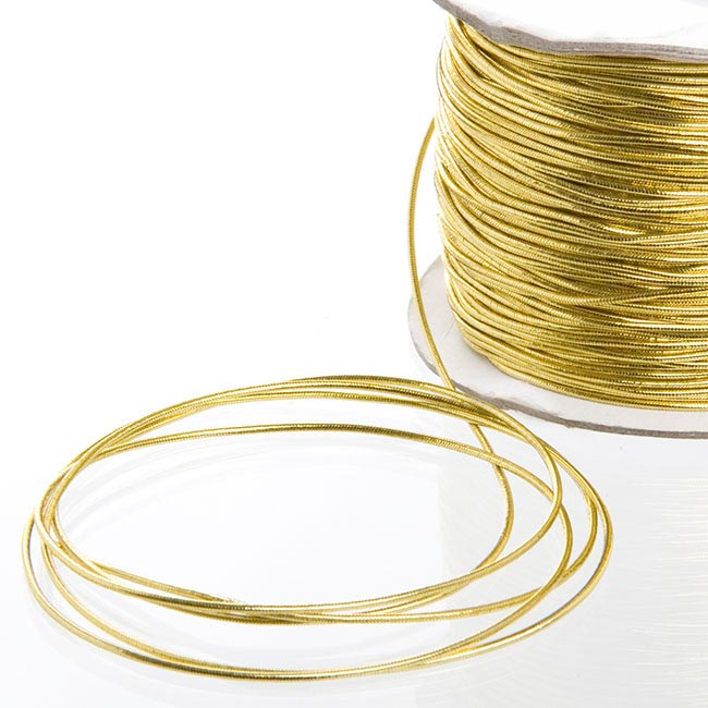 Cords - Metallic Cord Gold (1.5mmx100m)