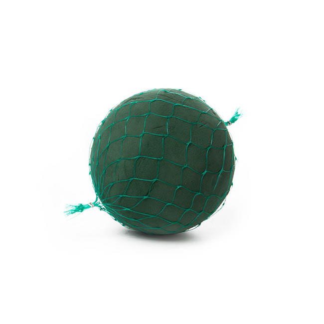Foam Spheres, Cones & Cylinders - Oasis IDEAL Floral Foam Ball Netted Sphere(15cm)