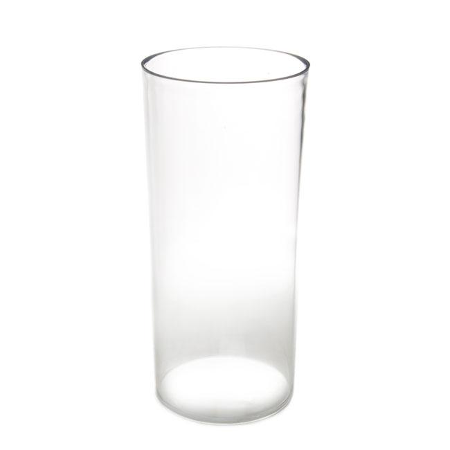 Polyvase Acrylic Cylinder Vase Clear 13dx25cmh
