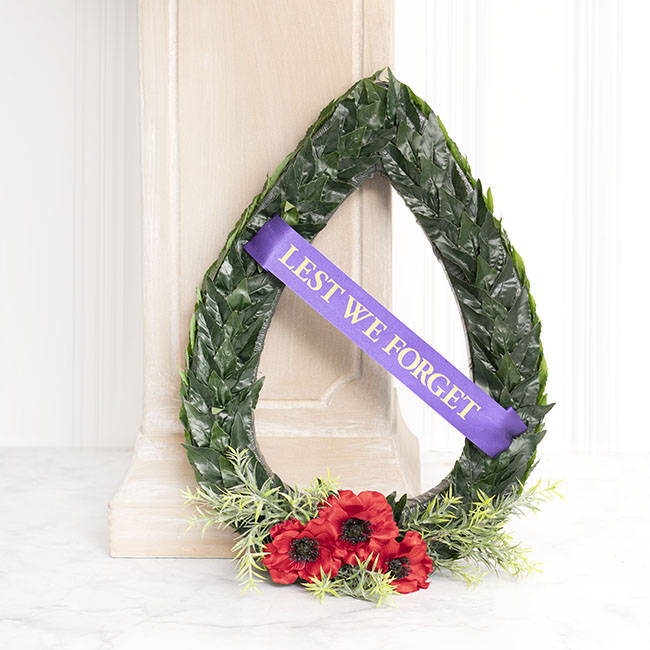 Special Occasion Ribbons - Ribbon Lest We Forget Violet (50mmx15m)