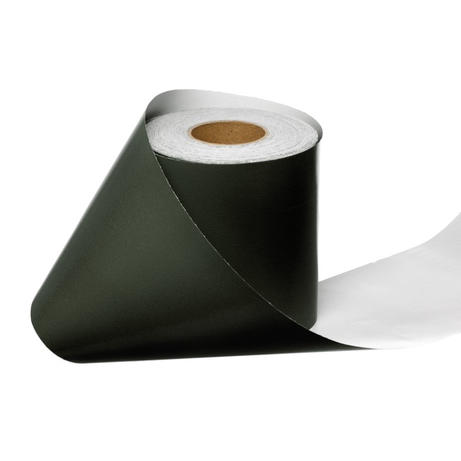 Counter Rolls - Wrapping Narrow Roll Solid Gloss Dark Green (10cmx25m)