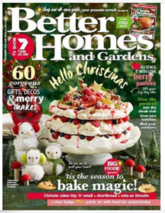 Better Homes and Gardens December 2016