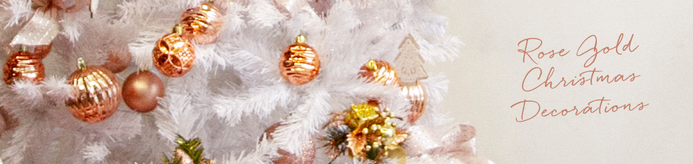 rose gold christmas decorations koch