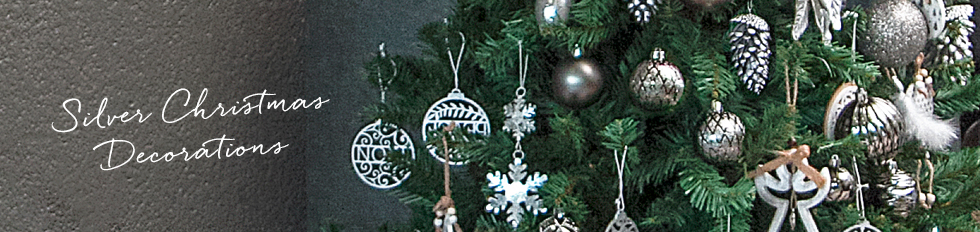 silver christmas decorationjpg - Silver Christmas Decorations